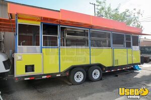 Fully-Loaded 2015 32' Kitchen and Catering Food Trailer for Sale in California!