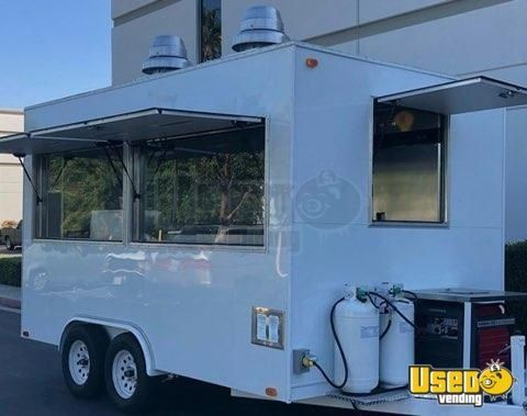 Lightly Used 2019 AA & G Univer Elite II - 10' x 12' Food Concession Trailer for Sale in California!