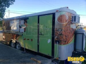 Loaded Mobile Kitchen Food Concession Trailer with Pro Fire Suppression for Sale in California!