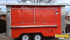 Lightly Used 2018 - 8' x 13' Mobile Kitchen / Permitted Food Concession Trailer for Sale in Colorado!