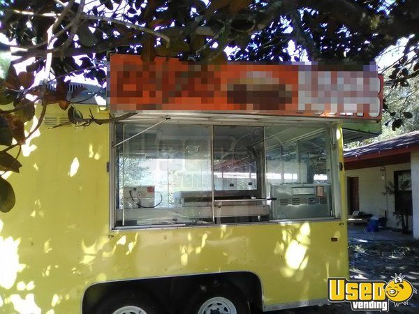 Kitchen Food Trailer Concession Window Florida for Sale