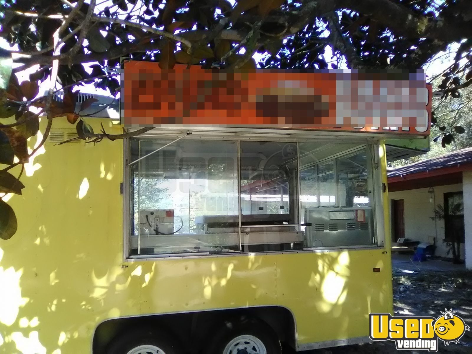Kitchen Food Trailer Concession Window Florida for Sale - 3