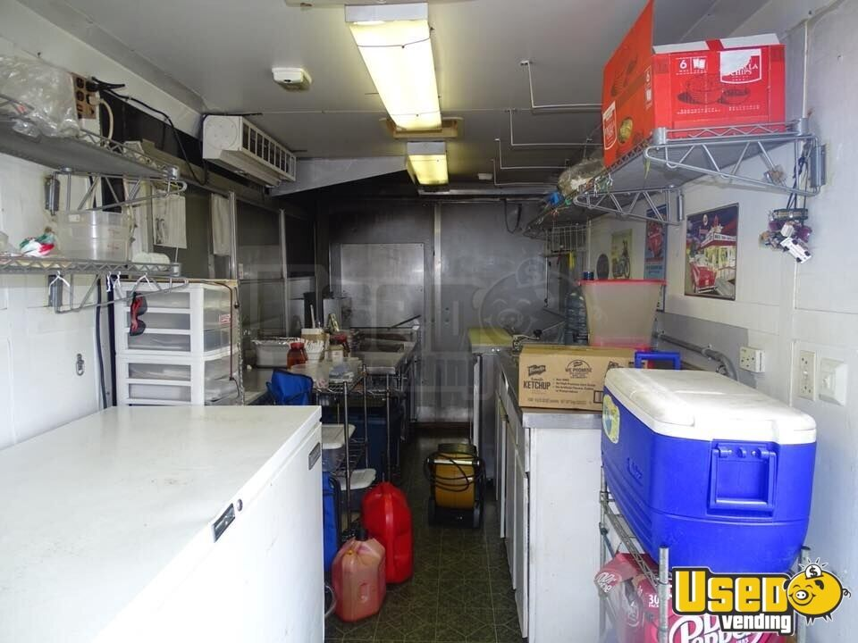 Kitchen Food Trailer Deep Freezer North Carolina for Sale - 8