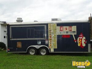 Kitchen Food Trailer Exterior Customer Counter North Carolina for Sale