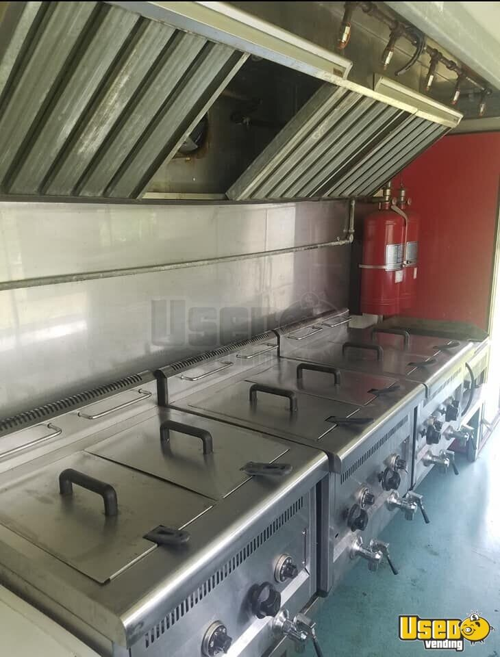 Kitchen Food Trailer Flatgrill New York for Sale - 6