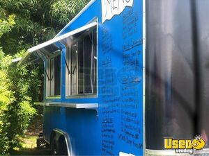 Very Neat 22' Kitchen Food Trailer with Pro Fire Suppression System for Sale in Florida!