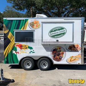 Gently Used 2019 8.5' x 14'  Self-Contained Kitchen Food Trailer for Sale in Florida!