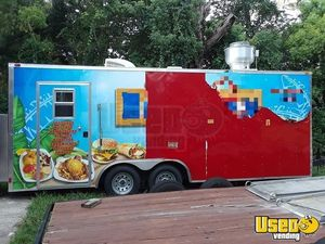 2014- 8' x 20' Loaded Concession Trailer for Sale in Florida, Barely Used!