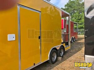 NEW 2018 8.5' x 16' Food Concession Trailer with Porch for Sale in Florida!