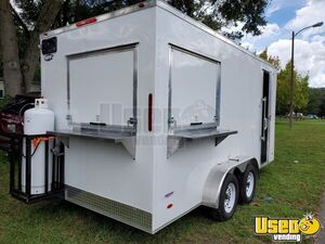 BRAND NEW 2021 Freedom Snapper 7' x 16' Commercial Kitchen Concession Trailer for Sale in Florida!