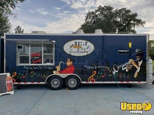 Super Neat 2016 8.6' x 24' Kitchen Food Trailer/Lightly Used Mobile Food Unit for Sale in Florida!