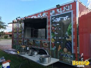 2017 - 7' x 20' Food Concession Trailer for Sale in Florida!!!
