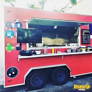 2016 - 12' Mobile Kitchen with All Up to Date Permits / Food Concession Trailer for Sale in Florida!