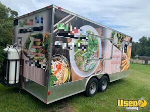 Licensed 2017 - 8.5' x 20' Spacious Mobile Kitchen Food Concession Trailer for Sale in Florida!