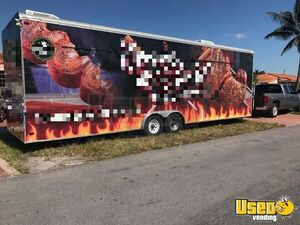 Loaded 2008 Food Concession Trailer with Commercial-Grade Kitchen Equipment for Sale in Florida!