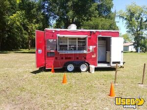 Fully Equipped 2017 18' Kitchen and Catering Food Concession Trailer for Sale in Florida!