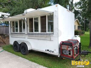 Very Clean 2009 20' CWCU Food Concession Catering Trailer for Sale in Florida!