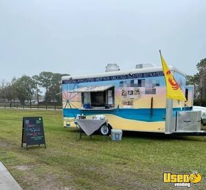 Turnkey Fully Equipped & Licensed 2018 Kitchen Concession Trailer for Sale in Florida!