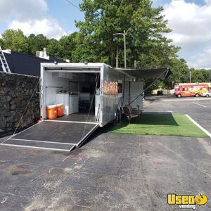 2018 8.5' x 28' Catering Food Concession Trailer w/ Pro Fire Suppression for Sale in Georgia!