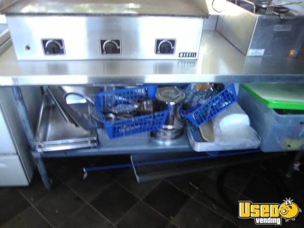 Kitchen Food Trailer Hot Water Heater Florida for Sale