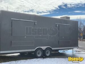 2018 - 8.4' x 24' Commercial Mobile Kitchen Food Concession Trailer for Sale in Idaho!!!