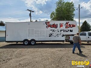 Fully Functional 8' x 33' Mobile Kitchen Food Concession Trailer for Sale in Idaho!!