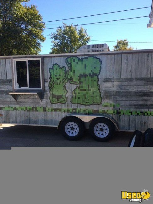 7.5' x 16' Food Concession Trailer for Sale in Illinois!!!