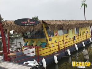Turnkey 2000 46' Tiki Food Boat w/ Full Kitchen & Restroom in Great Condition for Salle in Illinois!