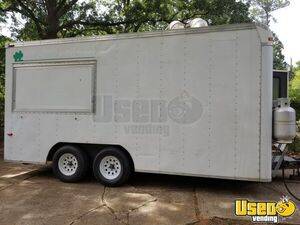 Well-Equipped 2002 7' x 16.5' Kitchen Food Trailer/Mobile Kitchen for Sale in Louisiana!