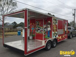 2019 Diamond Cargo 8.5' x 20' Kitchen Food Concession Trailer with Porch for Sale in Louisiana!