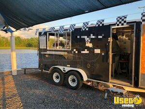 Ready to Use 2007 - 7.5' x 18' Mobile Kitchen Food Concession Trailer for Sale in Louisiana!