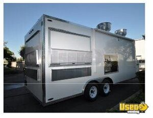 2016 - 8.5' x 20' Food Concession Trailer for Sale in Louisiana!!!