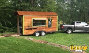 2018 - 16' Custom Street Food Concession Trailer for Sale in Massachusetts!!!