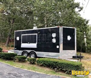 16' 2016 Food Concession Trailer with Pro Fire Suppression System for Sale in Massachusetts!
