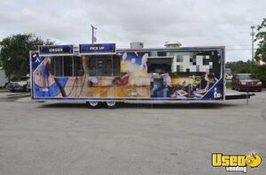 BRAND NEW 2020 - 8.5' x 30' Commercial Mobile Kitchen Food Concession Trailer for Sale in Michigan!