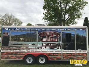 Used 2007 28' Southwest Food Concession Trailer w/ Ansul Pro Fire Suppression for Sale in Michigan!