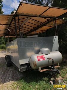 Heavy-Duty 2000 - 7' x 18' Outdoor Mobile Kitchen Food Concession Trailer for Sale in Mississippi!