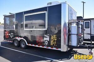 2018 - 8.5' x 20' Cargo Craft Food Concession Trailer w/ Screened Porch for Sale in Nevada!