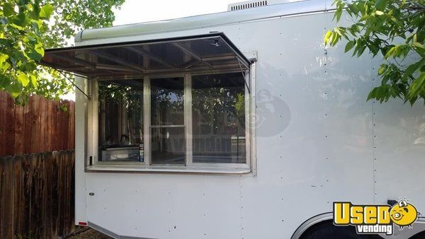 Used 36' Clean Food Concession Trailer w/ Lots of Storage for Sale in Nevada!