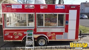Terrific Fully Loaded 2017 7' x 16' Custom Built Food Concession Trailer for Sale in New Jersey!