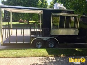2017 8.5' x 22' Commercial Kitchen Concession Trailer with 8' Porch for Sale in New Jersey!