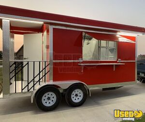 BRAND NEW 2020 - 8' x 16' Food Concession Trailer/All Stainless Steel Commercial Mobile Kitchen for Sale in New Mexico!