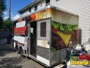 2012 Loaded Mobile Kitchen Food & Ice Cream Concession Trailer for Sale in New York!