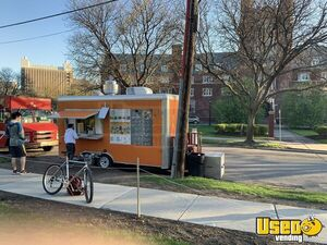 Superb 2015 Best Build 8' x 16' Kitchen Food Trailer / Used Mobile Food Unit for Sale in New York!