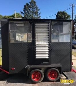Used Compact Multi-Use Food Concession Trailer / Mobile Food Unit for Sale in New York!