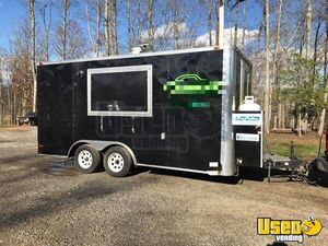 2014 - 16' Food Concession Trailer for Sale in North Carolina!!!