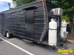 Used 2016 - 24' Mobile Kitchen Food Concession Trailer for Sale in North Carolina!!!