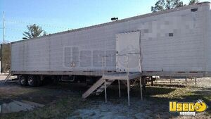 "8'6"" x 53' Wabash Professional High Capacity Mobile Kitchen Concession Trailer for Sale in North Carolina!"