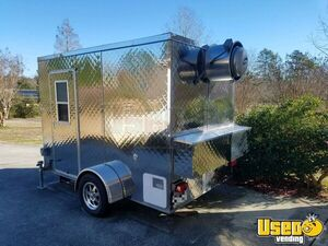2015 - 6' x 10' All Stainless Steel Food Concession Trailer for Sale in North Carolina!!!