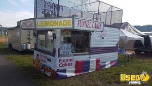 8' x 24' Used Carnival Food Concession Trailer for Sale in North Carolina!!!